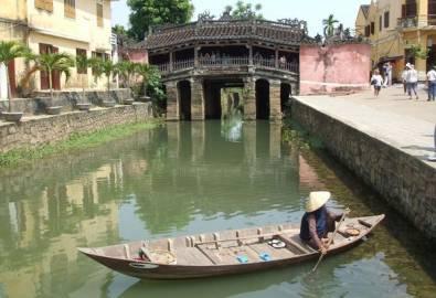 Vietnam Hoi An japanische Brücke
