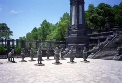 Vietnam Hue Khai Dinh Grab