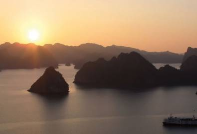 Vietnam Kambodscha Laos Halong Bucht