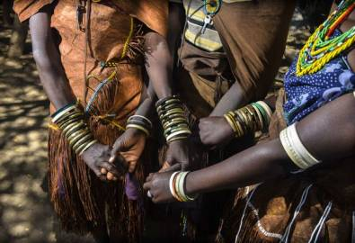 Tansania - Datogas Frauen Schmuck