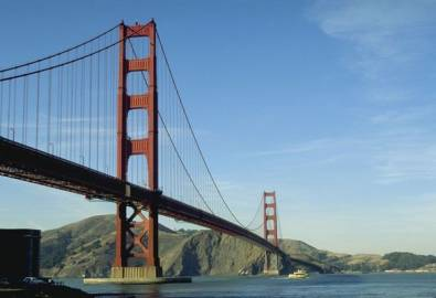 USA San Francisco Golden Gate Brücke