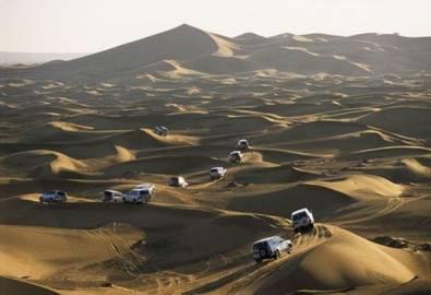 VAE Dubai Wüstensafari